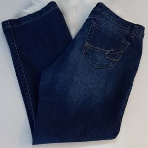 Nine West Santa Monica bootcut Jean's 10/29 Avg